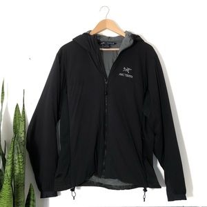 Arc'teryx Women's Black Insulated Hooded Jacket